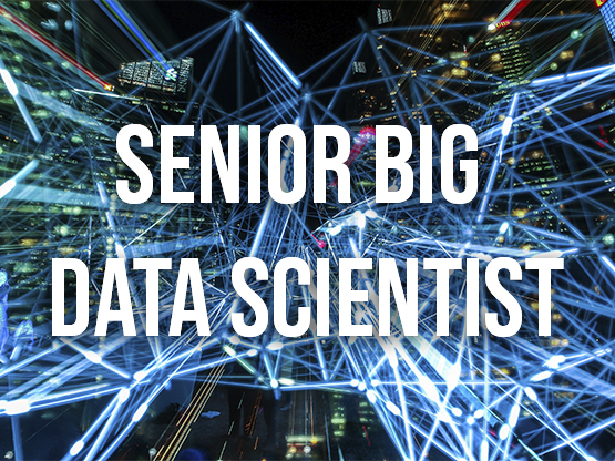 Senior Big Data Scientist